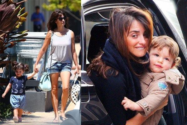 Penélope Cruz's child Luna Encinas Cruz