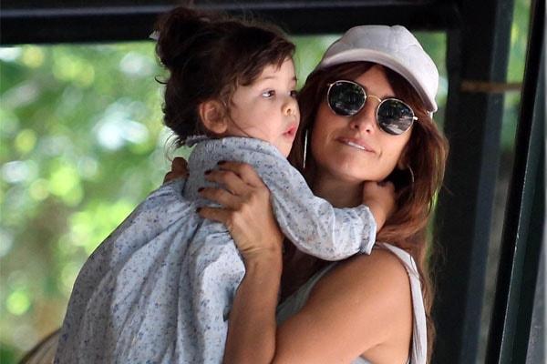 Penélope Cruz's daughter Luna Encinas Cruz