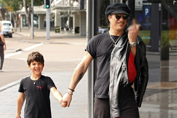 Slash's Son Cash Anthony Hudson