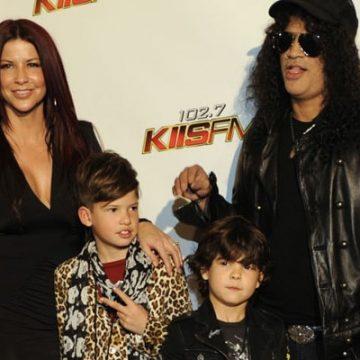 Meet Slash's Children That He Had With His Ex-Wife Perla Ferrar