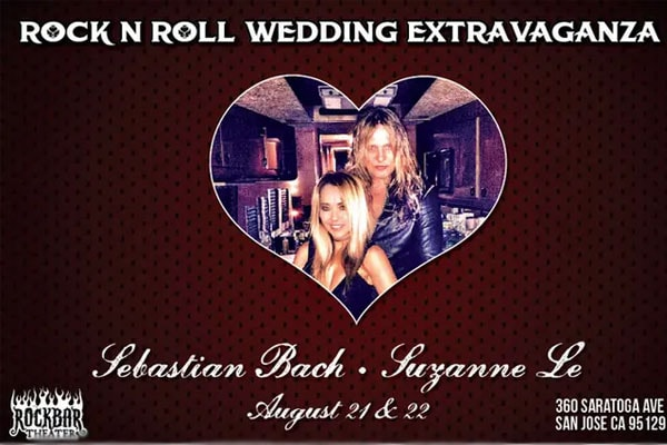 Suzanne Le and Sebastian Bach's marriage