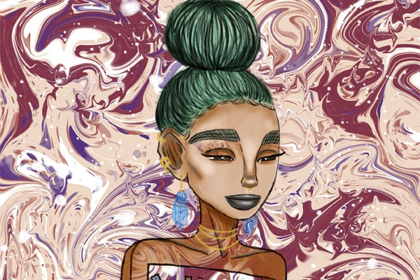 Tanita Strahan's career as a visual artist