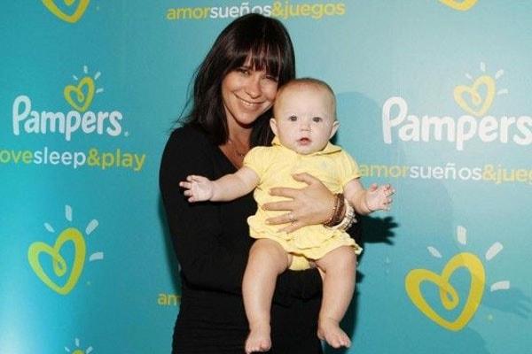 Actress Jennifer Love Hewitt's son Atticus James Hallisay