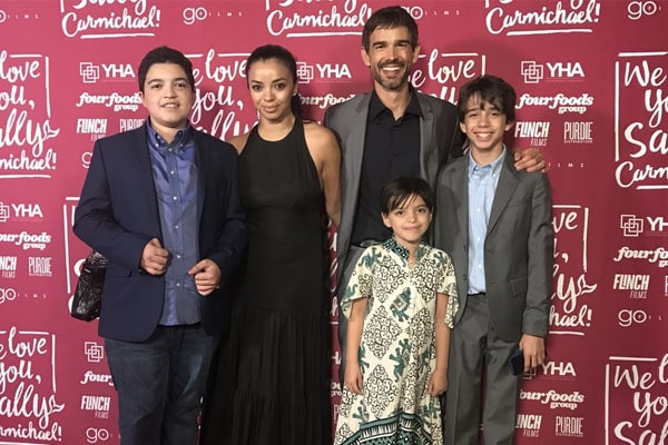 Anel Lopez's Children, Alondra Cecilia Gorham, Ethan Gorham and Lucas Gorham