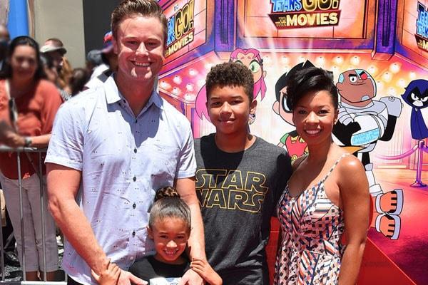 Angel Parker's children, James Nenninger, Naomi Nenninger.