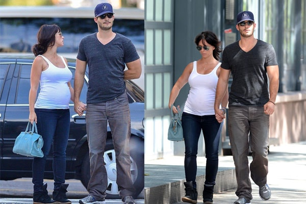 Brian Hallisay's wife Jennifer Love Hewitt
