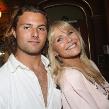 Meet Jack Paris Brinkley Cook – Photos Of Christie Brinkley's Son With Ex-Husband Richard Taubman