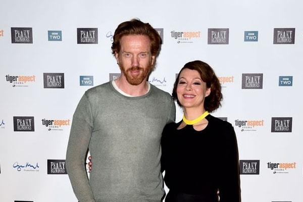 Damian Lewis' wife Helen McCrory