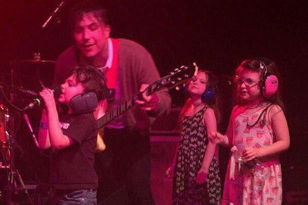 Frank Iero's kids