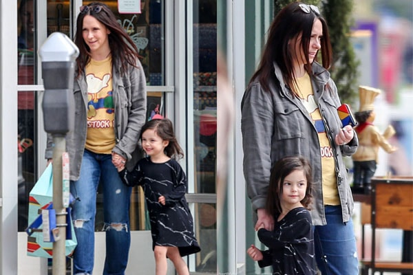 Jennifer Love Hewitt's daughter Autumn James Hallisay