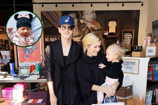 Mikey Way's children, Rowan Louise Way and Kennedy James Way