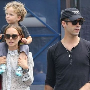 Meet Aleph Millepied – Photos Of Natalie Portman's Son With Husband Benjamin Millepied