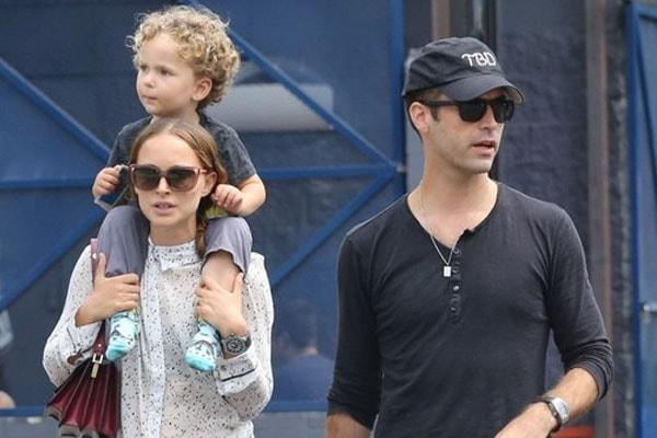Natalie Portman's son Aleph Millepied
