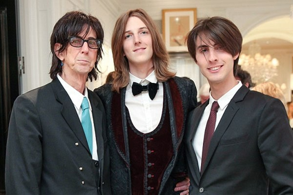 Ric Ocasek's children Oliver Orion Ocasek and Jonathan Raven Ocasek