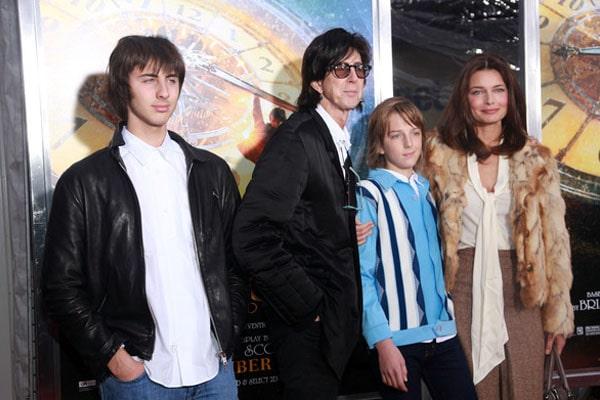 Ric Ocasek's sons Oliver Orion Ocasek and Jonathan Raven Ocasek