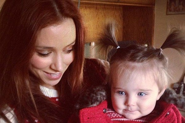 Una Healy's Daughter Aoife Belle Foden