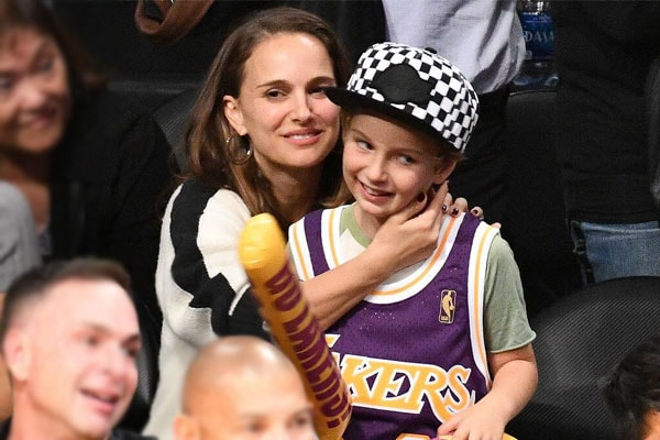 Natalie-Portman-and-son Aleph Millepied