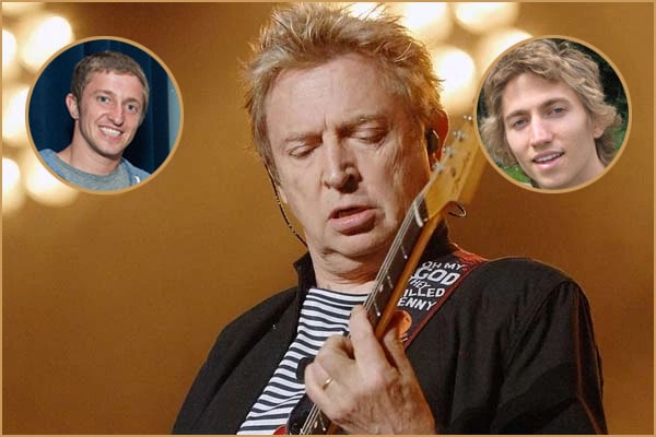 Andy Summers' sons Maurice X. Summers And Anton Y. Summers
