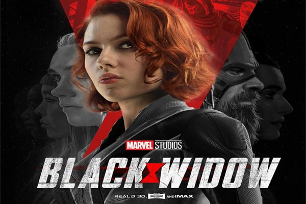 Black Widow's poster