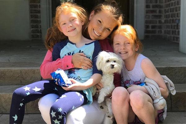 Brandi Redmond's daughters Brinkley Redmond
