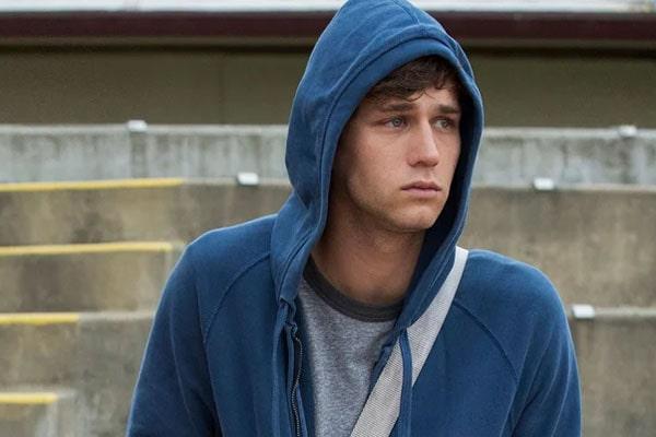 13 Reasons Why's Brandon Flynn aka Justin Foley