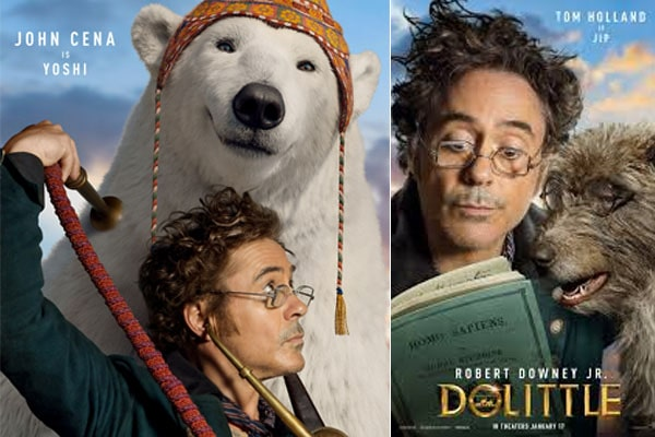 Dolittle, Universal movie production