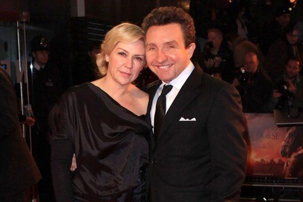 Eddie Marsan's wife Janine Schneider-Marsan