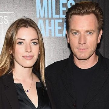 Meet Clara Mathilde McGregor – Photos Of Ewan McGregor's Daughter With Ex-Wife Eve Mavrakis