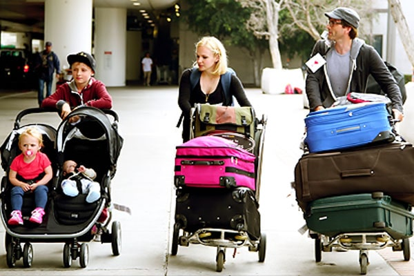 David Tennant and Georgia Moffett's family