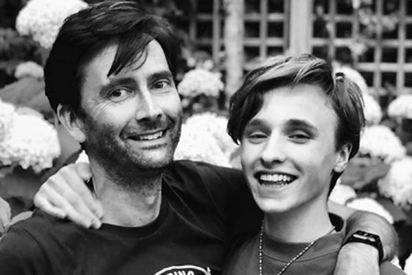David Tennant's eldest son Ty Tennant