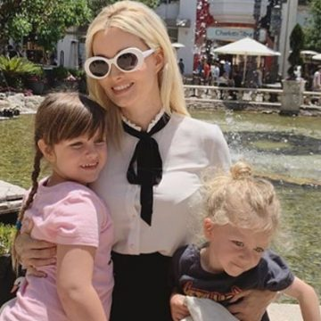 Meet Forest Leonardo Antonio Rotella And Rainbow Aurora Rotella – Photos Of Holly Madison's Children