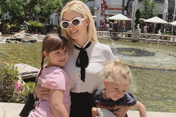 Holly Madison's children Forest Leonardo Antonio Rotella and Rainbow Aurora Rotella