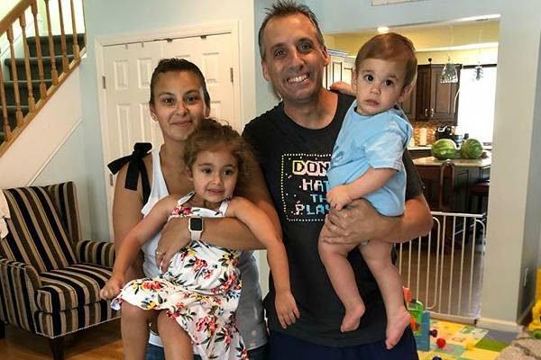 Joe Gatto's children Milana Francine Gatto And Remington Joseph Gatto