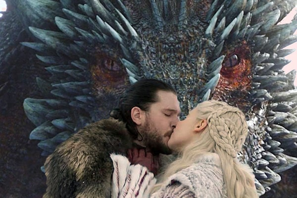 Got characters, John Snow and Dany