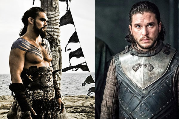 Got characters, Khal Drogo And John Snow