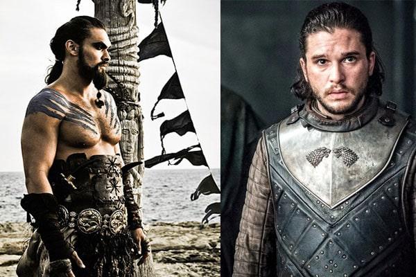 Got characters, Khal Drogo And John Snow