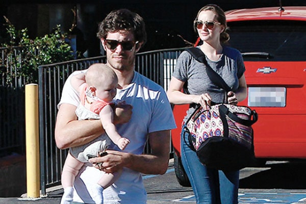 Leighton Meester with her kid Arlo Day Brody