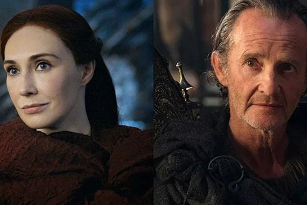 GOT characters, Melisandre & Qyburn