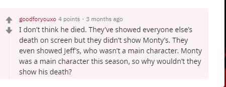 Fan Theory of Reddit user
