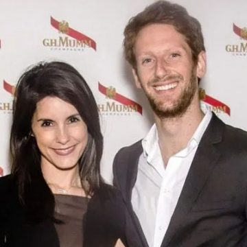 Meet The F1 Racer Romain Grosjean's Children. Has A Total Of Three Kids