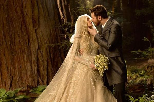 Sean Parker's wedding