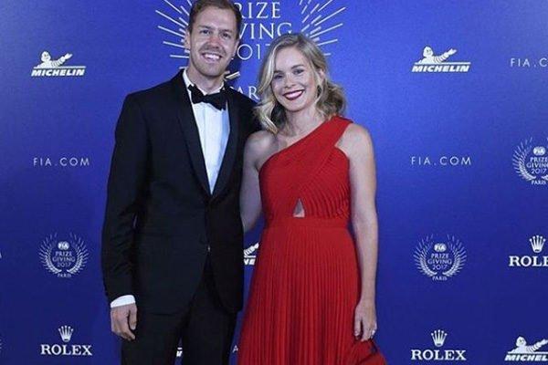 Sebastian Vettel's Daughters Matilda Vettel and Emily Vettel