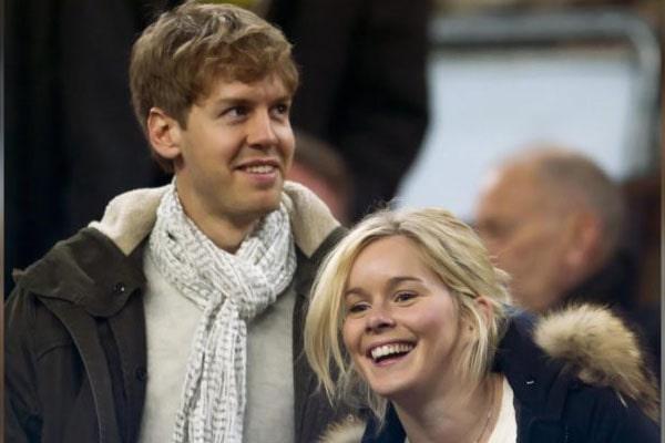 Sebastian Vettel's wife Hanna Prater
