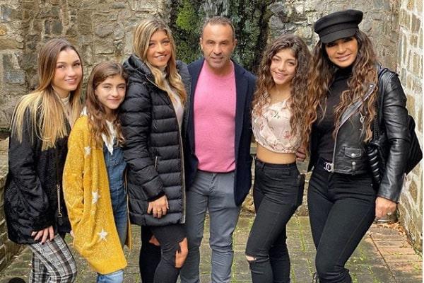 Teresa Giudice's children Gabriella Giudice, Gia Giudice, Milania Giudice, and Audriana Giudice