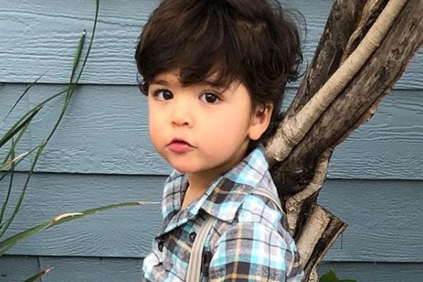 Melissa Rumero's son Enzo Fumero