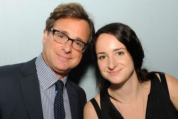 Bob Saget's daughter Lara Melanie Saget.