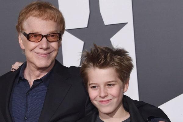 Danny Elfman's son Oliver Elfman
