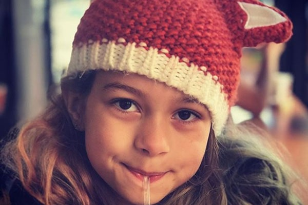 Genevieve Gorder's daughter Bebelle Harcott