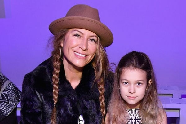 Genevieve Gorder's daughter Bebelle Harcott