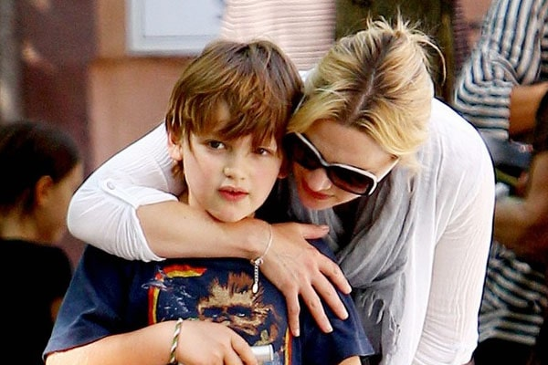 Kate Winslet's son Joe Mendes